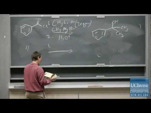Organic Chemistry 51C. Lecture 04. Reactions and Protecting Groups.