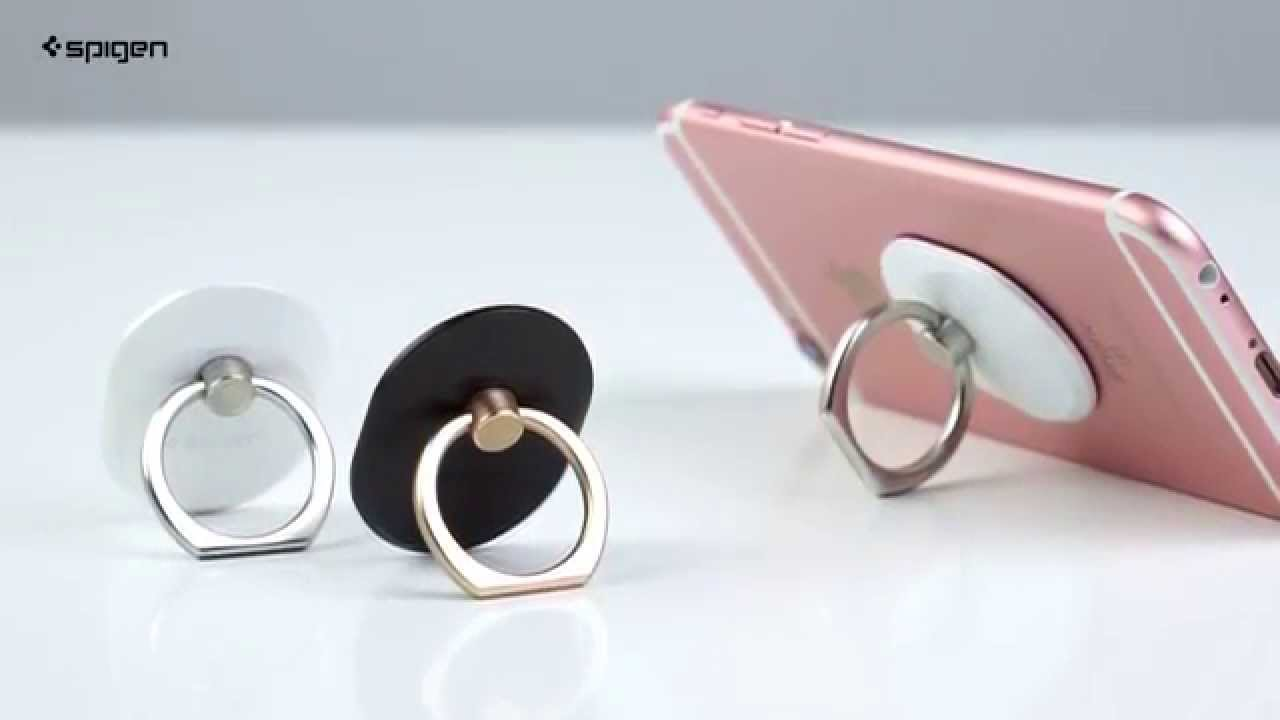 Spigen Style Ring for Mobile Devices - YouTube