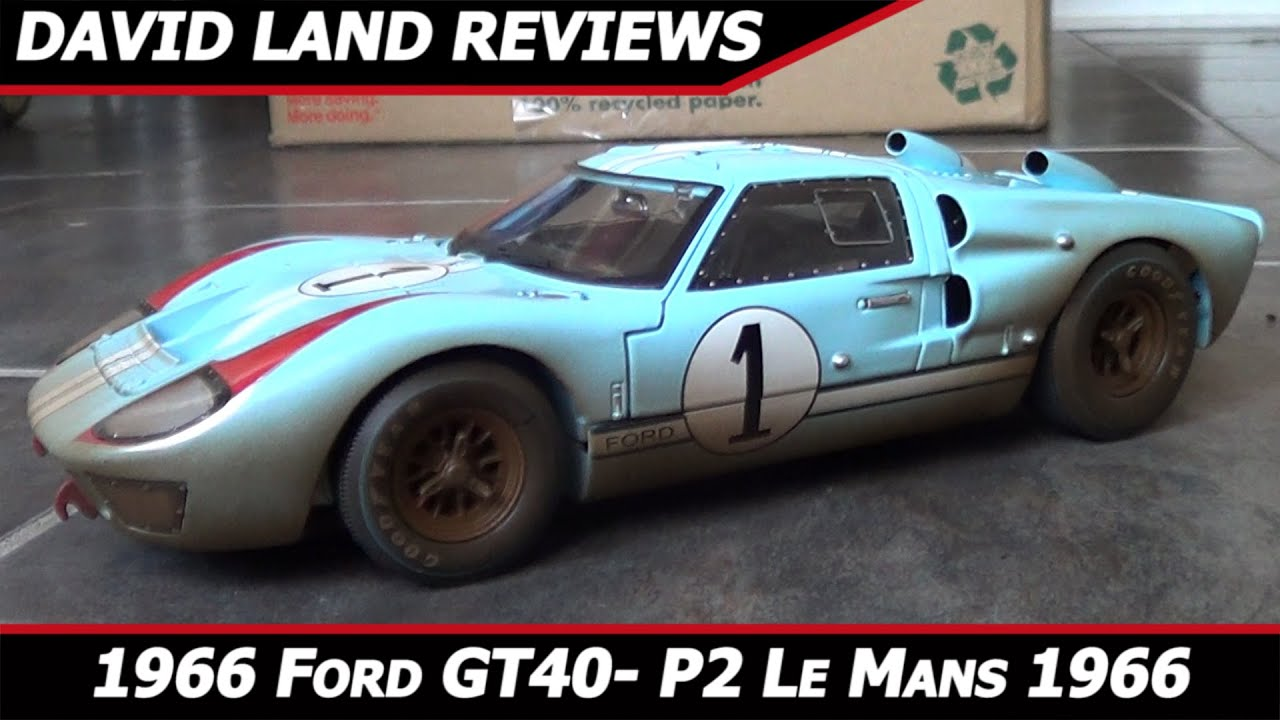 Shelby Collectibles 1966 Ford Gt40 Mk Ii 1 Le Mans Weathered