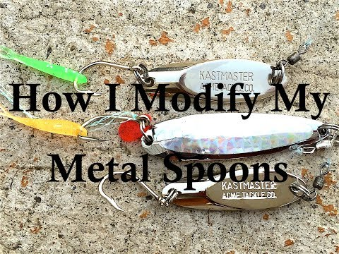 Fishing Modified Metal Spoons!