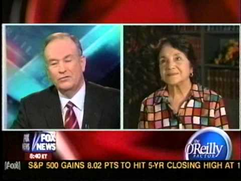 May 2006 - Dolores Huerta Visits 'O'Reilly Factor'