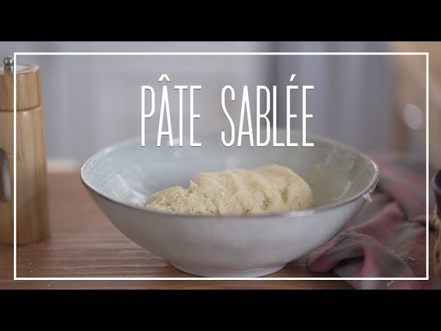 PÂTE SABLÉE, o que é e como se faz? | Dicionário Gastronômico