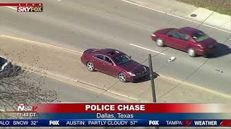POLICE CHASE In Dallas, Texas