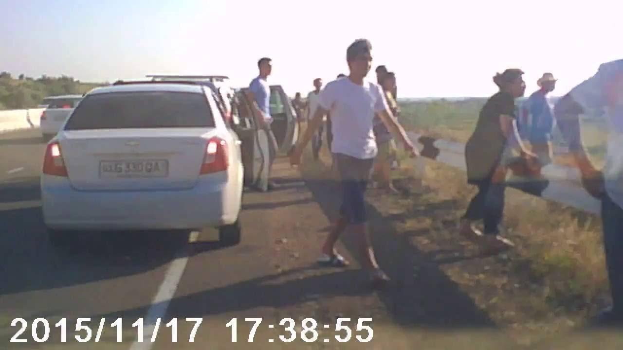 Авария на трассе Ташкент-Газалкент #1