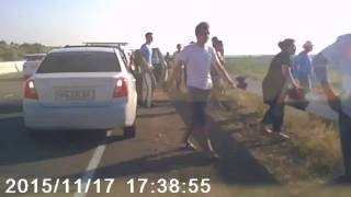 Авария на трассе Ташкент-Газалкент