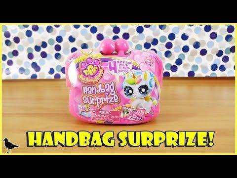 BFF Best Furry Friends Handbag Surprize Purse Toy Opening!   Birdew Reviews