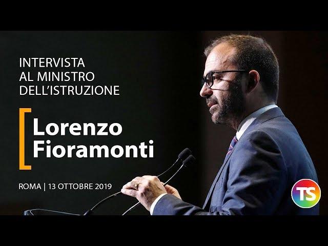 Intervista al ministro dell'istruzione Lorenzo Fioramonti