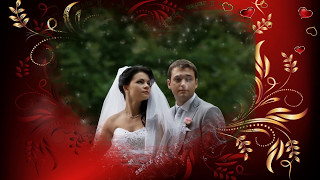 Свадебное видео из фотографий.