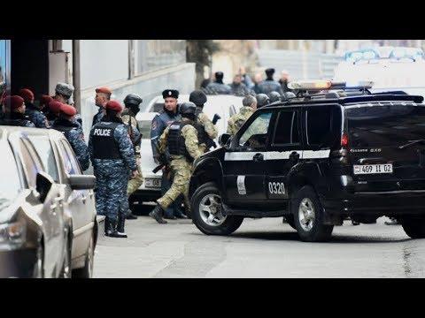 Стрельба в центре Еревана. Неизвестный ворвался в гостиницу «Эребуни-плаза»