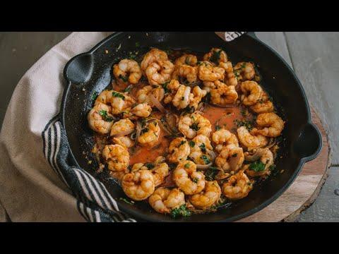 Camarones al Mojo de Ajo (Mexican-Style Garlic Shrimp)