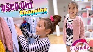 Ich werde ein VSCO Girl ???? Shopping Haul! Ultimate Transformation 24 Stunden VLOG | Clarielle