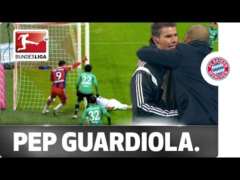 Pep Guardiola Argues then Celebrates with 4th Official