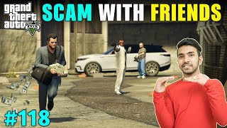 MICHAEL CHEATED WITH HIS FRIENDS | GTA V GAMEPLAY #118