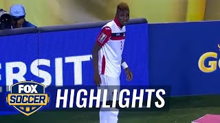 Yohance Marshall levels 4-4 against Mexico - 2015 CONCACAF Gold Cup Highlights