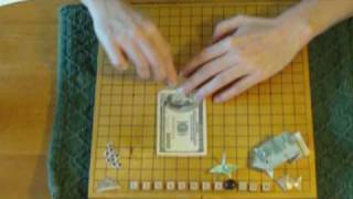 Money Origami Frog Instructions