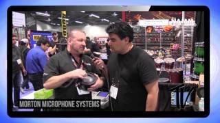 Morton Microphones on Drum Talk TV!