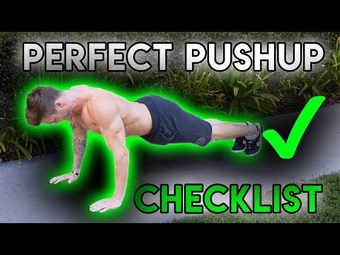 How To: Pushups  - PERFECT PUSHUP CHECKLIST !