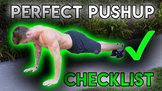 How To: Pushups (PERFECT PUSHUP CHECKLIST!)