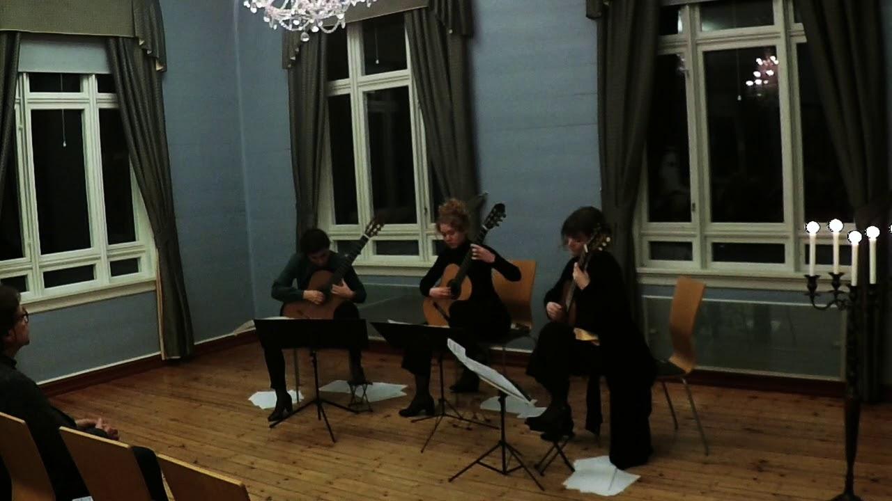 Trio Franor - Rondo Amoroso by Harald Sæverud (arr. Arne Brattland)