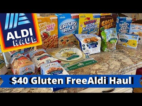GLUTEN FREE ALDI HAUL WITH PRICES 2020
