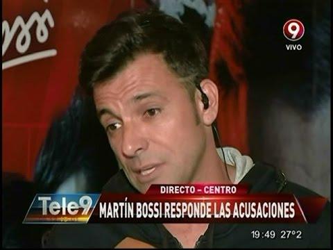 Martín Bossi: Grave denuncia por violencia física y psicológica contra el actor