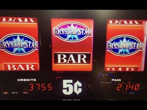 Little Win★CRYSTAL STAR Slot Machine Max Bet at San Manuel Casino