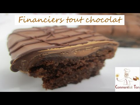 financiers-tout-chocolat-ganache-et-glaçage-au-chocolat-au-lait