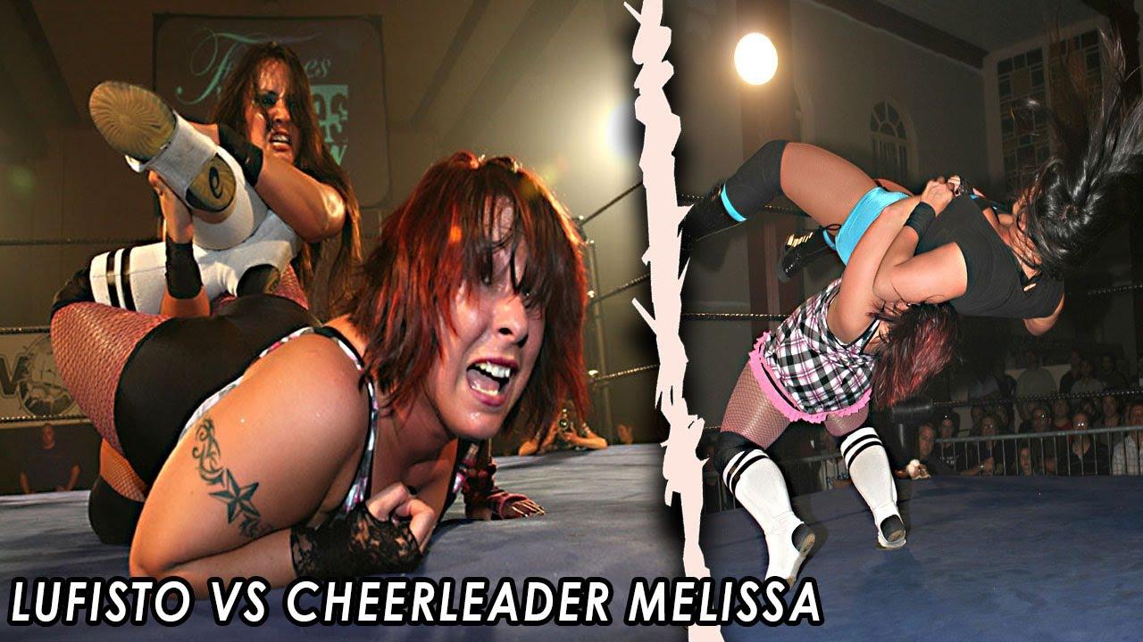 (FREE MATCH) - 2009 - LuFisto Vs Cheerleader Melissa