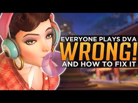 Overwatch: Everyone Plays D.Va WRONG! - Meta Misconceptions