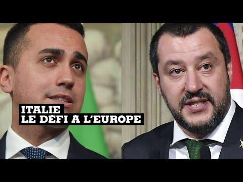 """Italie : un programme économique qui entend mettre fin à """"l'austérité"""""""