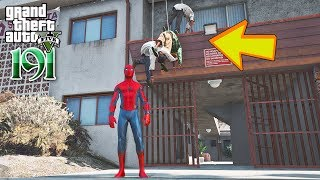 Spiderman ចូលទៅប្រដៅពួកជើងកាងភូមិFranklin - GTA 5 Redux Real Life Ep191 Khmer|VPROGAME