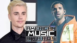2016 AMA Nominations Announced - Justin Bieber, Adele & Drake Lead