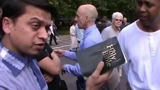 P2 - Spirit God!? Mansur Vs Christian   Old is Gold   Speakers Corner   Hyde Park