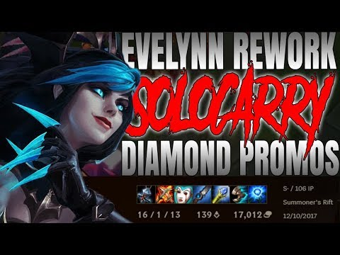 REWORKED ONESHOT EVELYNN! How 2 Carry your Diamond Promos (Full Commentary)