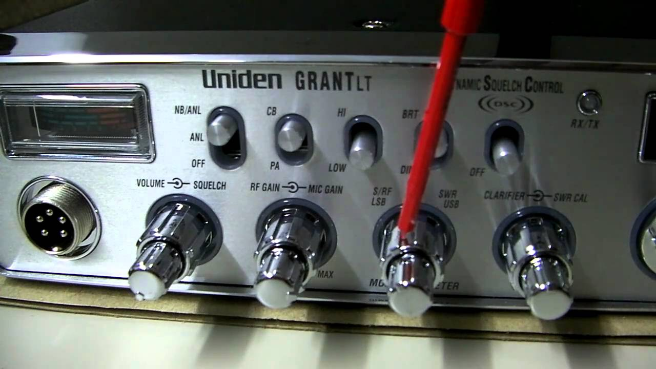 Uniden Grant Lt Video Overview And Tuning Locations By Cbradiomagazine Com