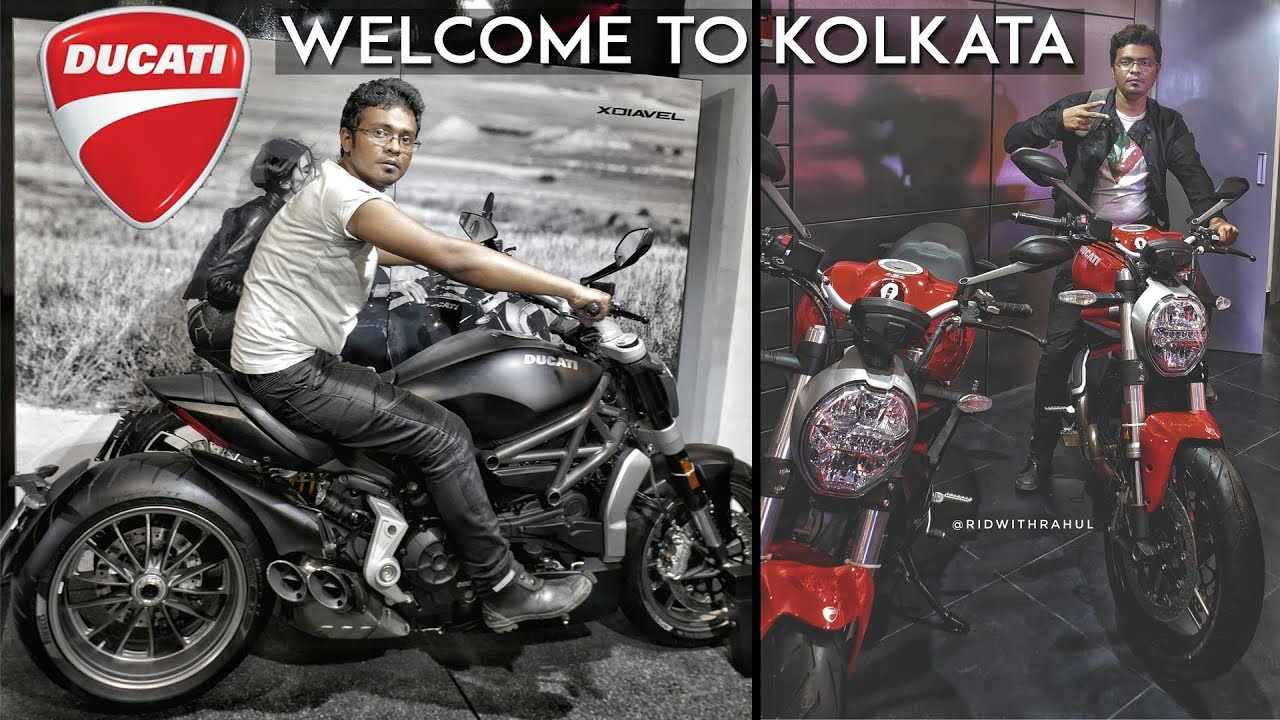 Ducati Welcome To Kolkata Rwr Youtube