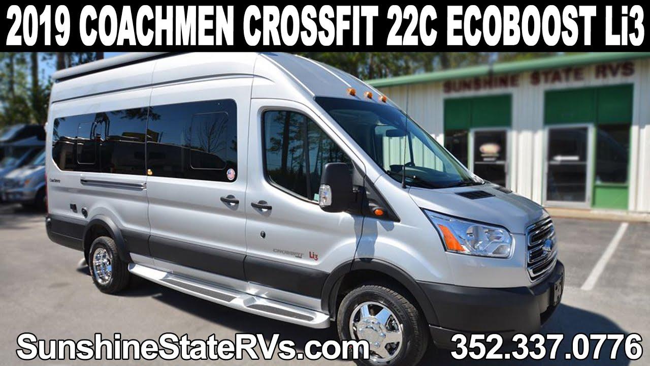 New 2019 Coachmen Crossfit 22c Ecoboost Class B Rv Ft Li3 Package