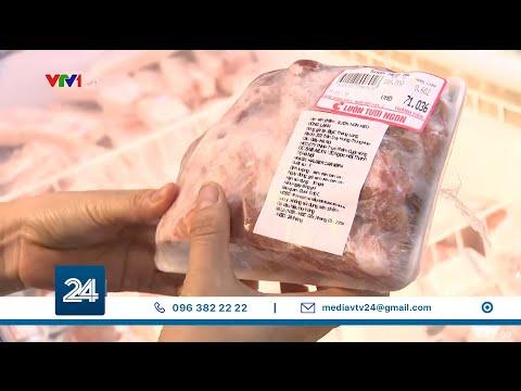 Thịt trong nước giá cao, người Việt chuyển ăn thịt lợn đông lạnh?| VTV24