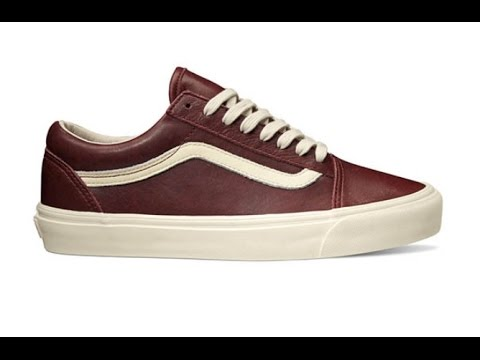41291a696c12ae Shoe Review  Vans Vault  Leather  Old Skool Zip LX (Andorra) - YouTube