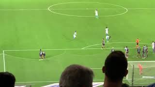 Om Dijon 2018 2ème but pour l'OM