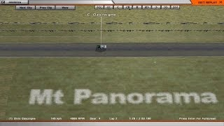 rFactor: Bathurst Legends 1969 - Mount Panorama Bathurst 1967 - Qualifying - 2:53.190