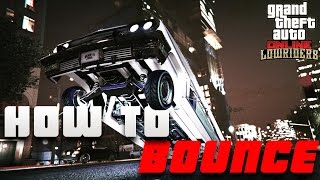 How To BOUNCE Your LOWRIDER! | Lowrider DLC Update | GTA 5 Online Tips, Tricks & Glitches