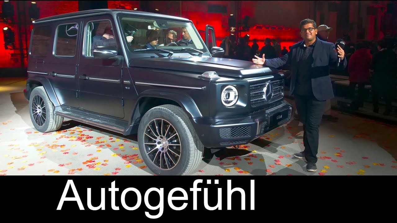 All New Mercedes G Class Launch Review G Wagon Naias 2018 Autogef Hl