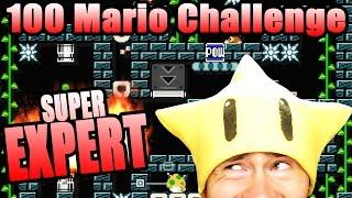 A KAIZO LEVEL APPEARS ~ Super Mario Maker [100 MARIO SUPER EXPERT]