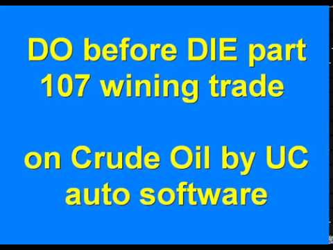 DO before DIE part 107 Automated Algo Trading Software from Ultachaal on MCX Crude Oil