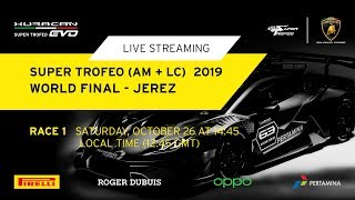 Lamborghini World Final 2019 (Am + LC) - Race 1