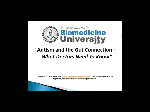 Autism and the Gut Connection  - What Doctors Need To Know
