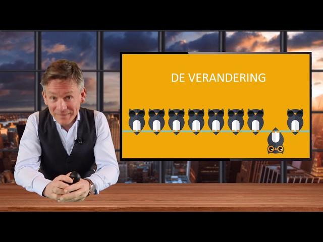 Webinar De verandering door topsprekers Arno Folkerts en Paul Smit