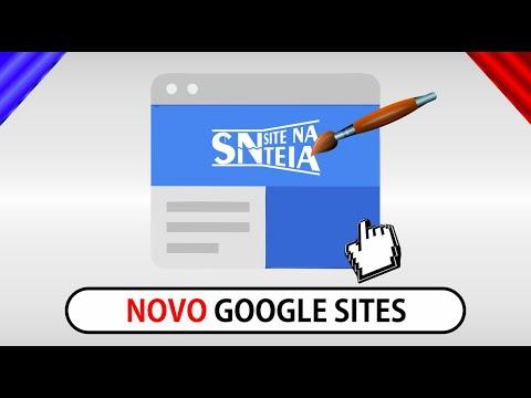 Como criar um site profissional no NOVO Google sites