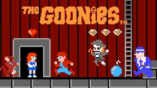 The Goonies / グーニーズ (1986) NES - No warp. All items and diamonds.